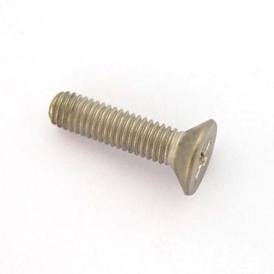 Tornillo DIN 965 M5x20 mm. de titanio gr. 2 (puro) - 1 Tornillo avellanado DIN 965 M5x0,80x20 mm. de titanio gr. 2 (puro).