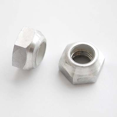 Tuerca DIN 985 M10x1,50 autoblocante de Aluminio E.N. 5754 - Tuerca DIN 985 M10x1,50 autoblocante de Aluminio E.N. 5754
