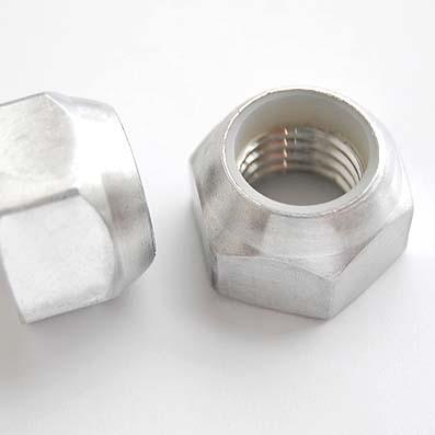 Tuerca DIN 985 M18x250 autoblocante de Aluminio E.N. 5754