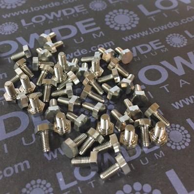 DIN LN9386 M3x6 mm. de titanio gr. 5 (6Al4V) - DIN LN9386 M3x6 mm. de titanio gr. 5 (6Al4V)