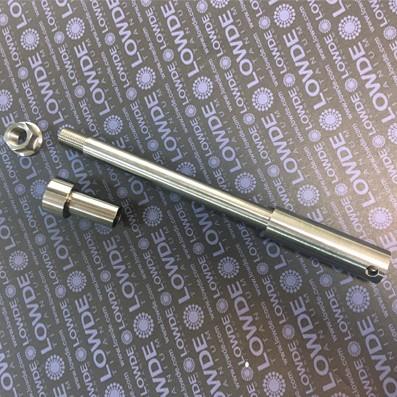Eje delantro SHOWA Montesa Cappra VG 250 Ø17x180 mm. Titanio.
