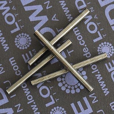 Espárrago DIN 975 M4x45 mm. de titanio gr. 5 (6Al4V) - Espárrago DIN 975 M4x45 mm. de titanio gr. 5 (6Al4V)