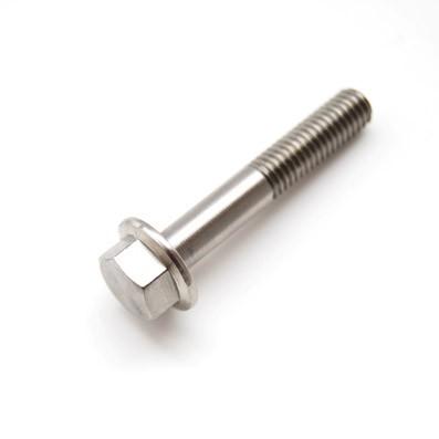 DIN 6921 M5x30 mm. de Titanio gr. 5 (6Al4V) - DIN 6921 M5x30 mm. de Titanio gr. 5 (6Al4V). Roscado 15 mm.