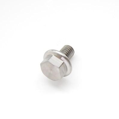 DIN 6921 M6x10 mm. de Titanio gr. 5 (6Al4V)