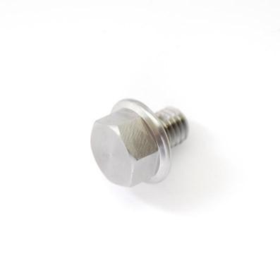 DIN 6921 M8x10 mm. de Titanio gr. 5 (6Al4V)