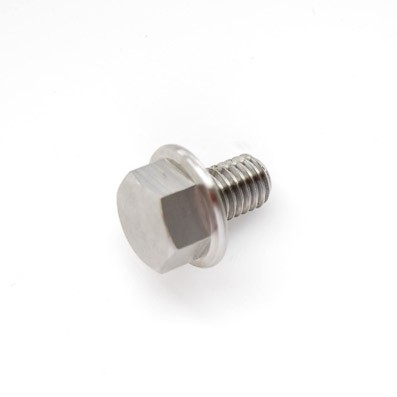 DIN 6921 M8x12 mm. de Titanio gr. 5 (6Al4V) - 1 Tornillo DIN 6921 M8x12 mm. de Titanio gr. 5 (6Al4V)