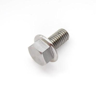 DIN 6921 M8x15 mm. de Titanio gr. 5 (6Al4V) - 1 Tornillo DIN 6921 M8x15 mm. de Titanio gr. 5 (6Al4V)
