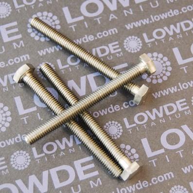 DIN 933 M8x85 mm. de titanio gr. 5 (6Al4V) - DIN 933 M8x85 mm. de titanio gr. 5 (6Al4V)