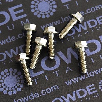 HEXAGONAL CON BALONA M5x15 mm. titanio gr. 5 (6Al4V) - 1 Tornillo cabeza hexagonal con balona M5x15 mm. titanio gr. 5 (6Al4V).