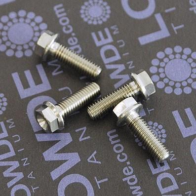 HEXAGONAL CON BALONA M5x16 mm. titanio gr. 5 (6Al4V)