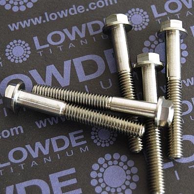 HEXAGONAL CON BALONA M6x45 mm. titanio gr. 5 (6Al4V) - HEXAGONAL CON BALONA M6x45 mm. titanio gr. 5 (6Al4V)