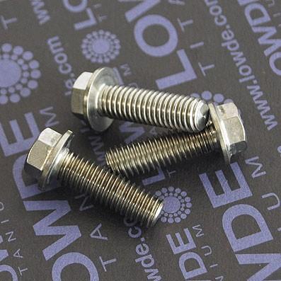 HEXAGONAL CON BALONA M8x25 mm. titanio gr. 5 (6Al4V) - HEXAGONAL CON BALONA M8x25 mm. titanio gr. 5 (6Al4V).
