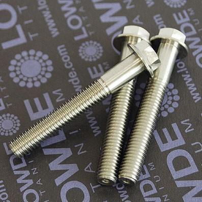 HEXAGONAL CON BALONA M8x55 mm. titanio gr. 5 (6Al4V) - HEXAGONAL CON BALONA M8x55 mm. titanio gr. 5 (6Al4V).