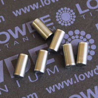 Pin ISO 2338 Ø5x10 mm. tol. h8 de Titanio gr. 5 (6Al4V)