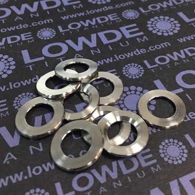 Arandela LN9016 M10 titanio gr. 5 (6Al4V)