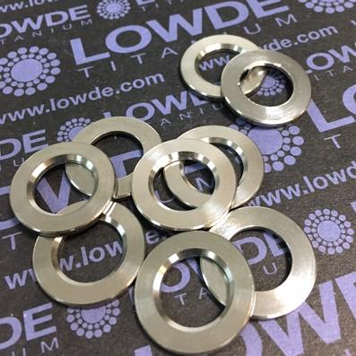 Arandela LN9016 M12 titanio gr. 5 (6Al4V)