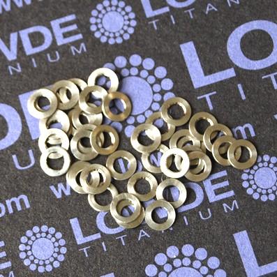 Arandela LN9016 M3 titanio gr. 5 (6Al4V)