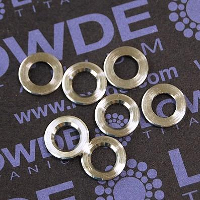 Arandela LN9016 M6 titanio gr. 5 (6Al4V) - Arandela LN9016 M6 titanio gr. 5 (6Al4V)