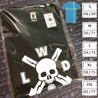 Camiseta básica algodón 100%.