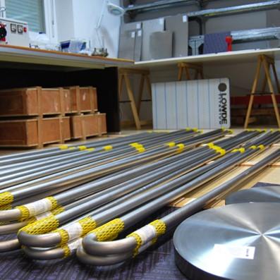 TUBOS, BRIDAS, VÁLVULAS, ACCESORIOS - Tubos, bridas, accesorios, reductores, codos, etc. de Titanio.